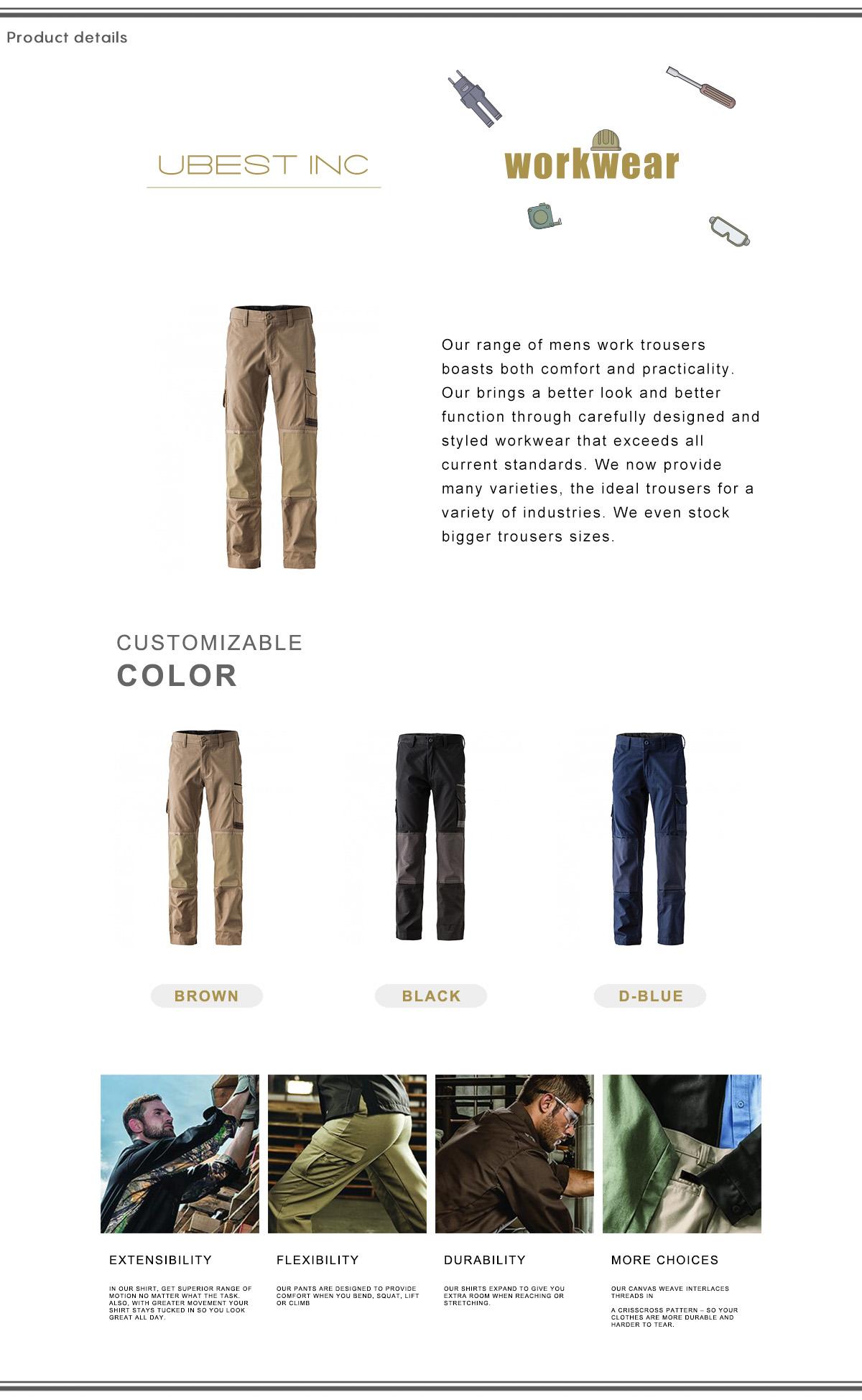 Men Workwear Trousers