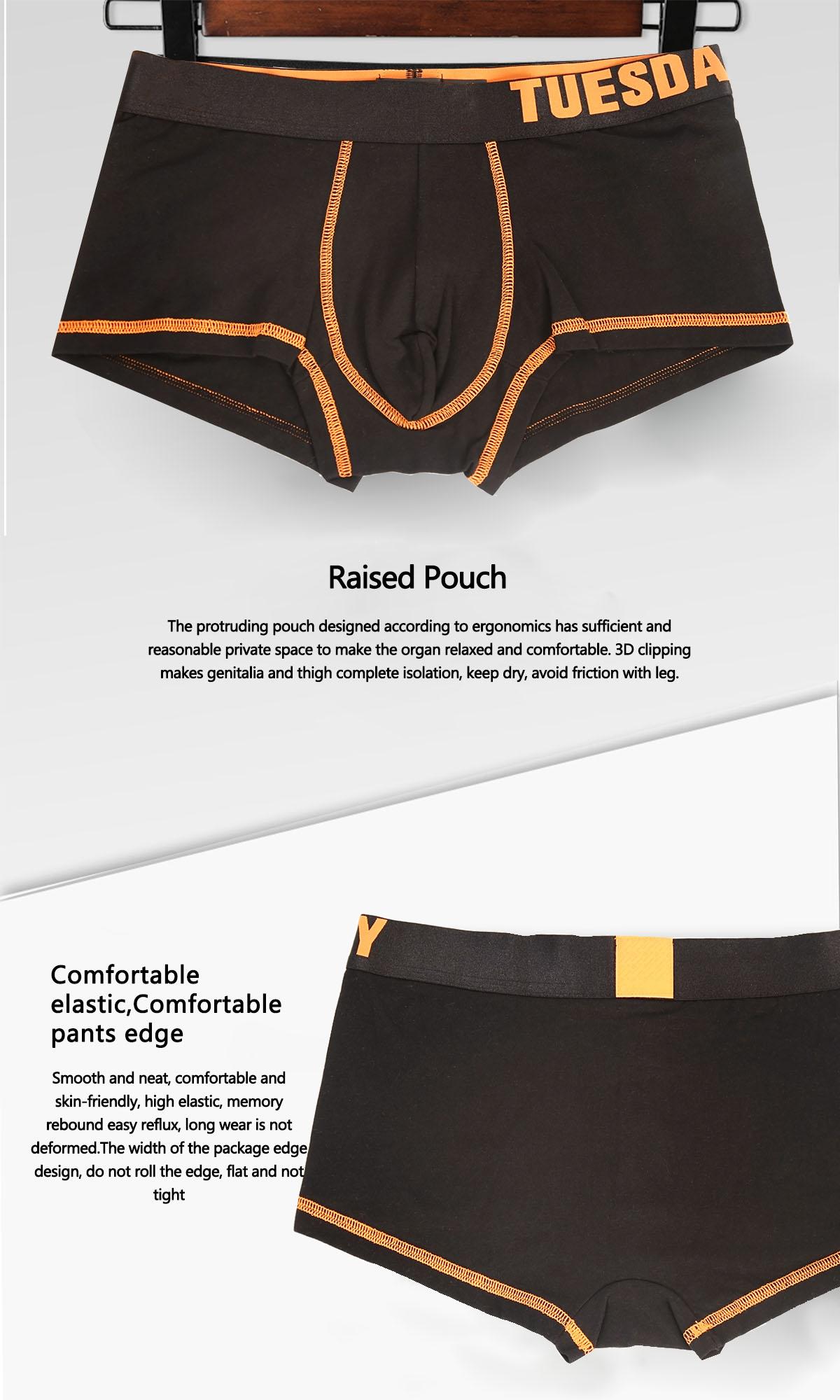 Men Underwear Boxer Briefs