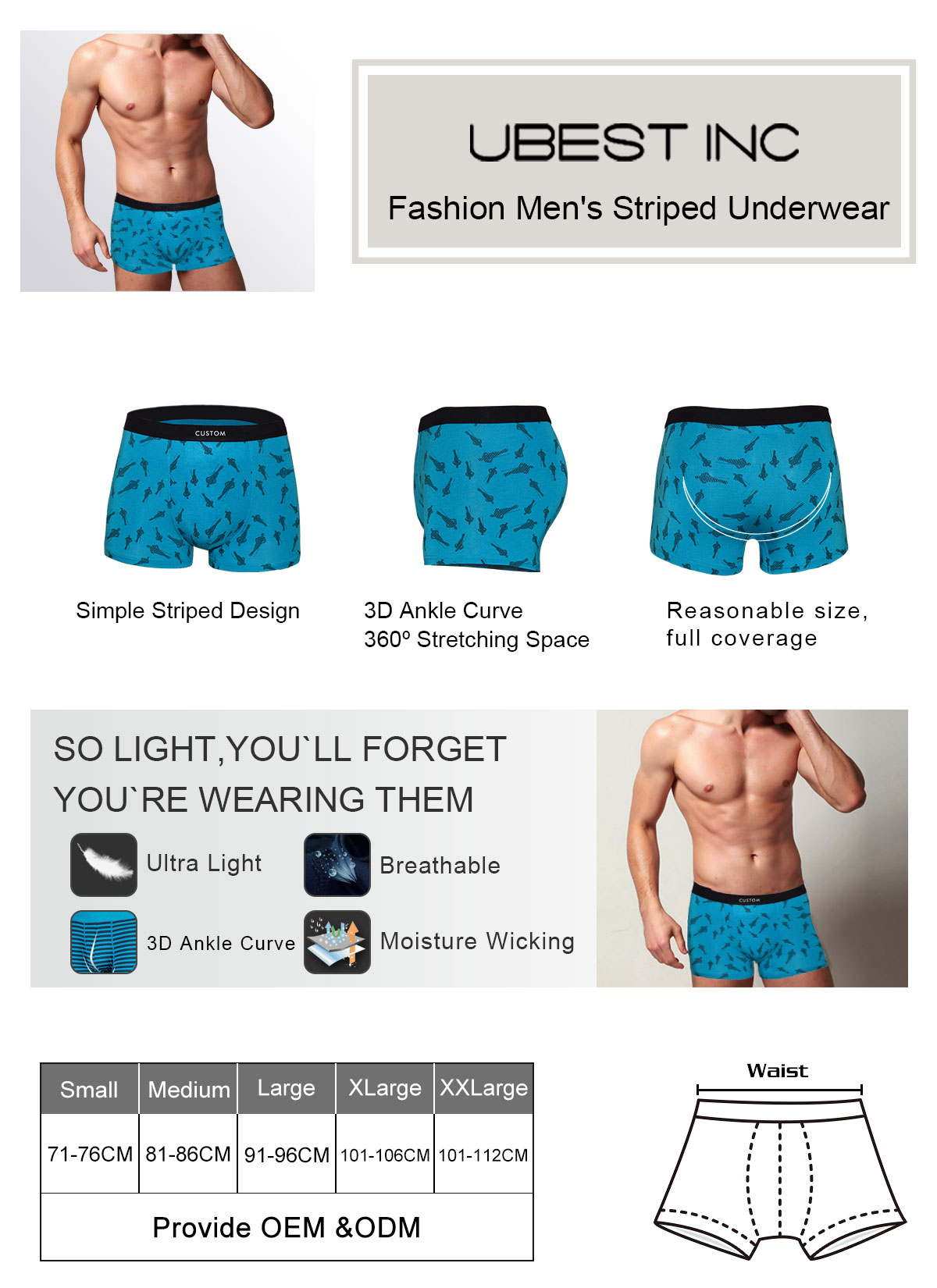 BRILLMAX Men Underwear Boxer Shorts