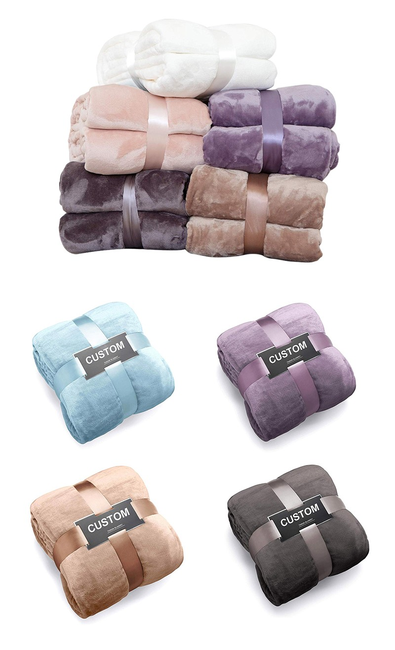 Flannel Fleece Throw Blankets