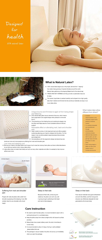 Healthy Natural Latex Pillow
