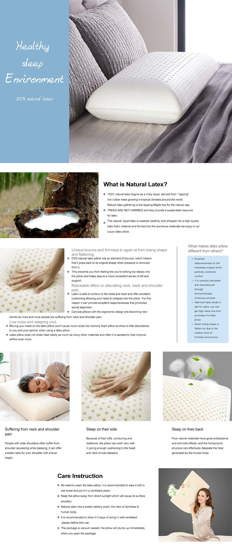 Natural Thailand Latex Pillow