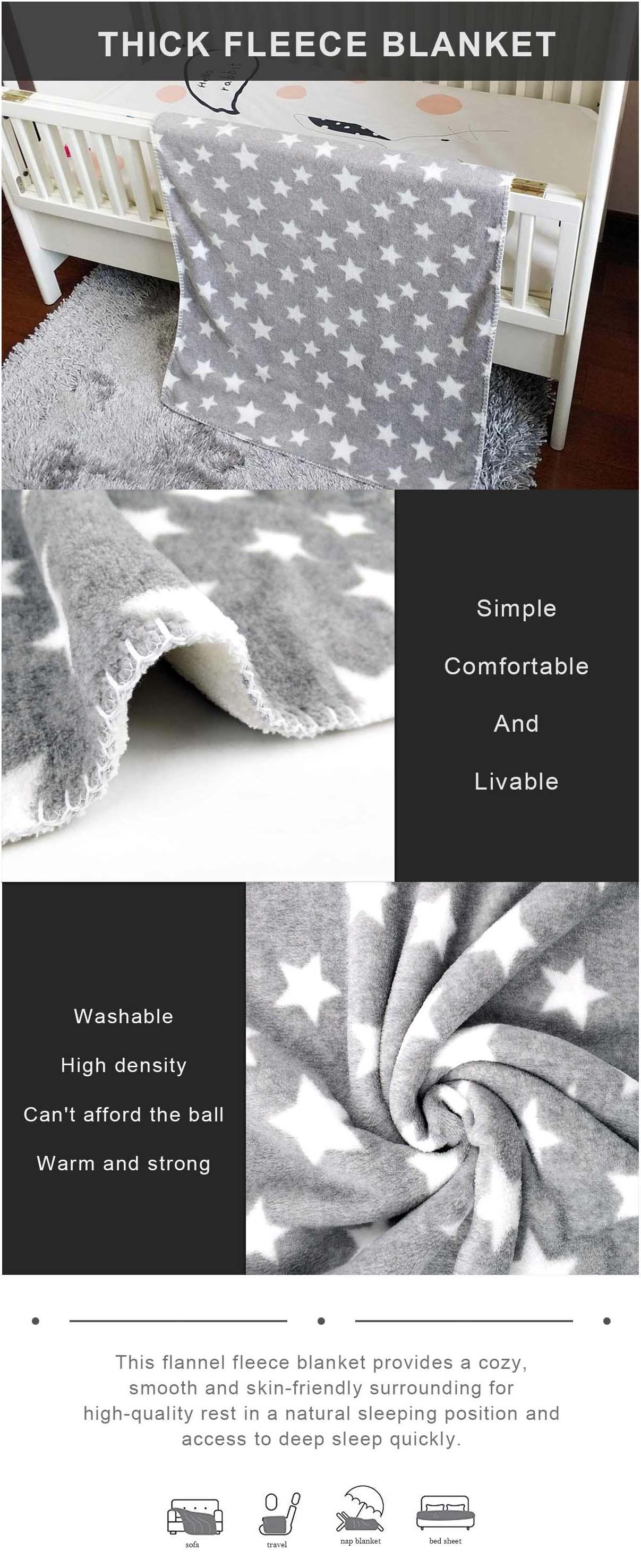 Thick Fleece Blanket