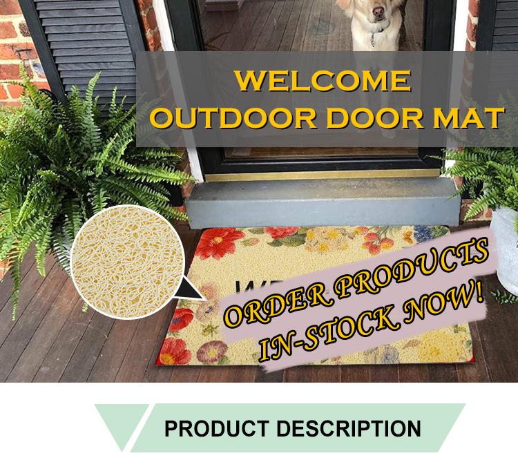 Pvc Shower Outdoor Mats