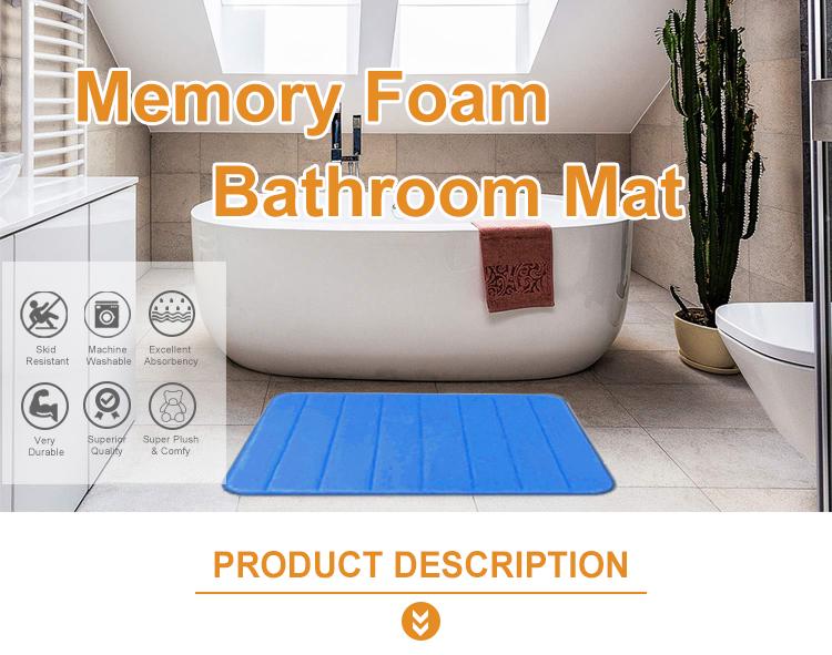 Absorbent Flannel PVC Mat