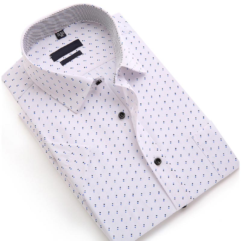 Men Slim Fit Stretch Shirt