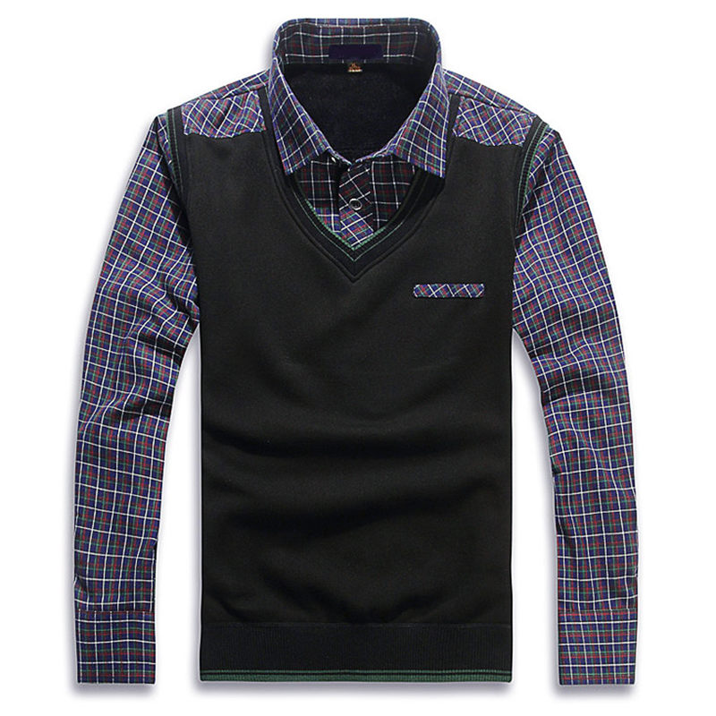Winter Men Shirt With Vest