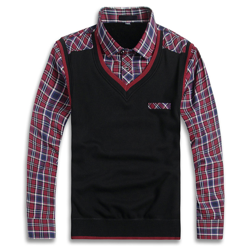 Winter Plaid Men Shirt