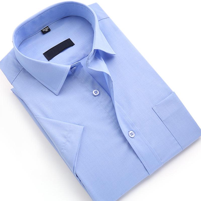 Men Short Sleeve Slim Fit Shirt