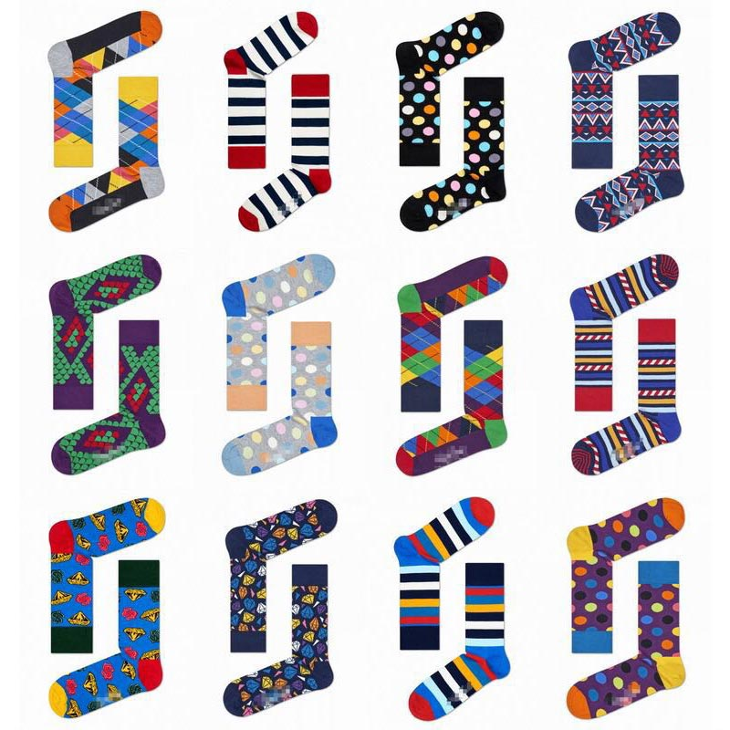 Colorful Casual Socks