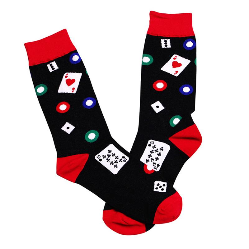 Men Colorful Casual Socks