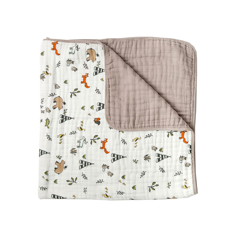 Muslin Swaddle Quilt Blanket