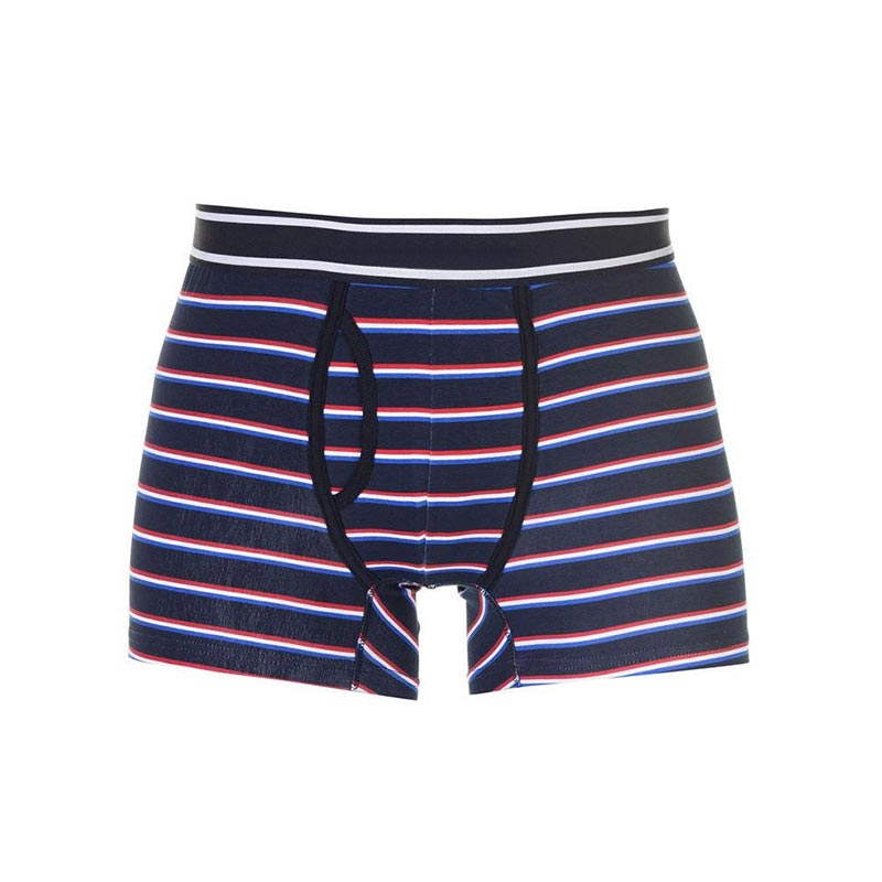 Men Striped Boxer Briefs