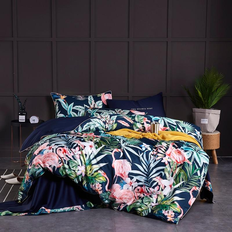Floral Pattern Bedding Set