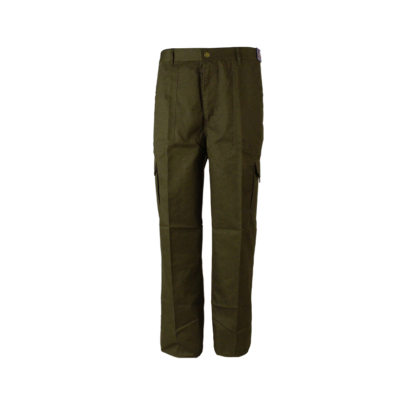 Men Canvas Fabric Workwear Pants