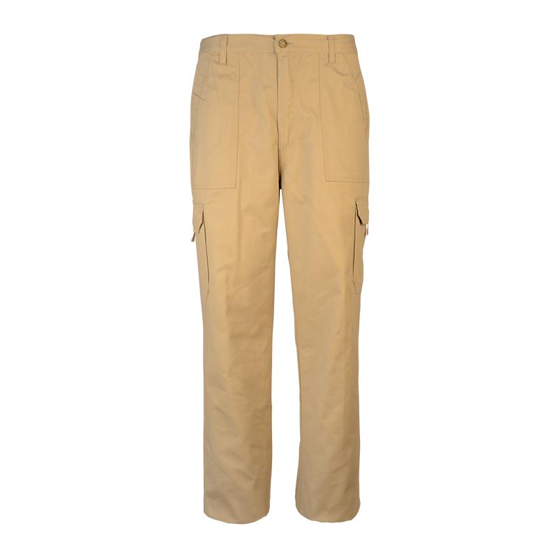 Men Stretch Twill Fabric Pants
