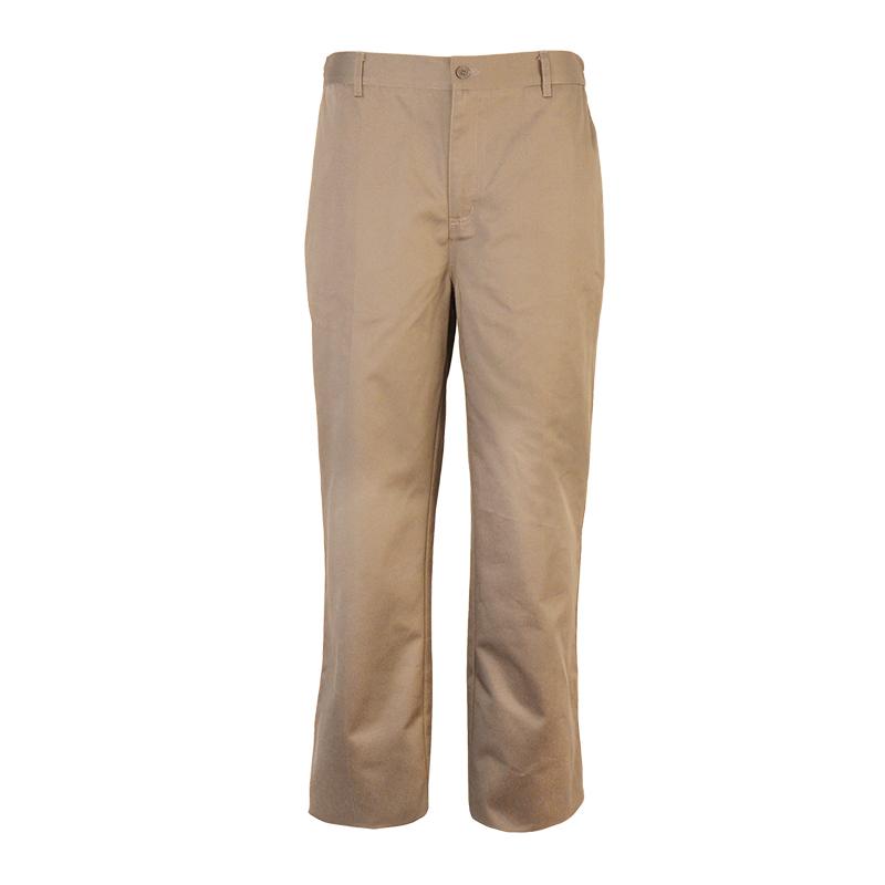 Men Long Twill Cargo Pants