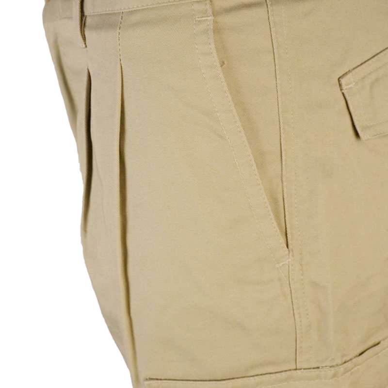 Straight-Fit Twill Work Cargo Pants