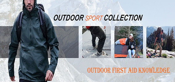 Outdoor first aid knowledge