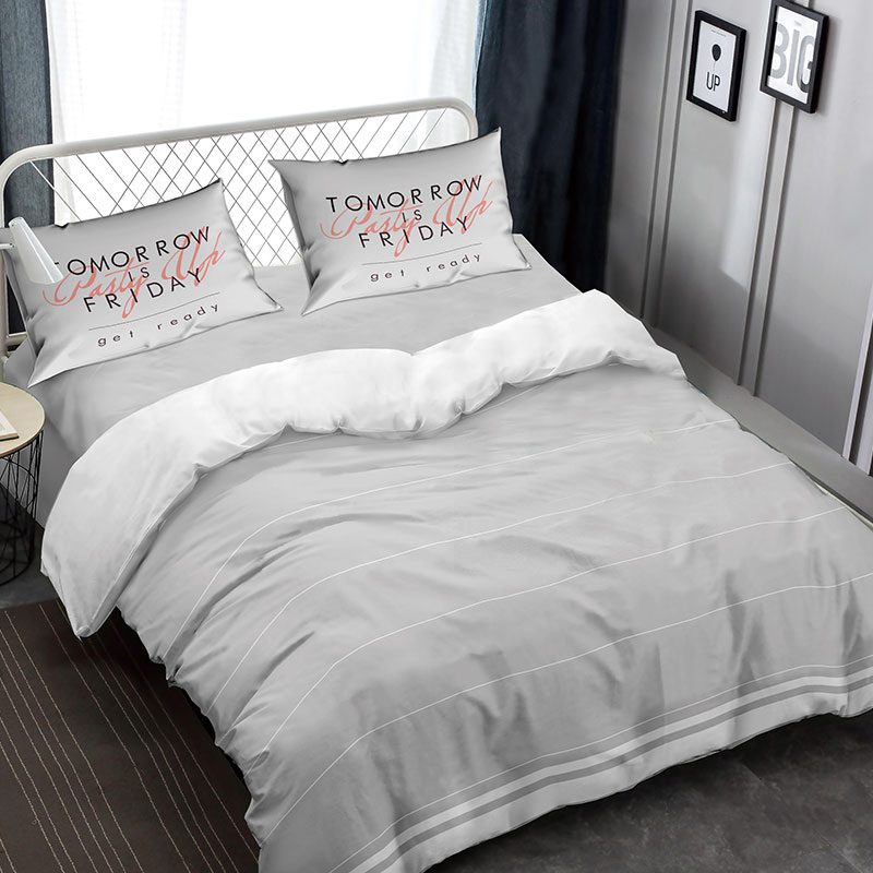 UBEST Stripe Duvet Cover