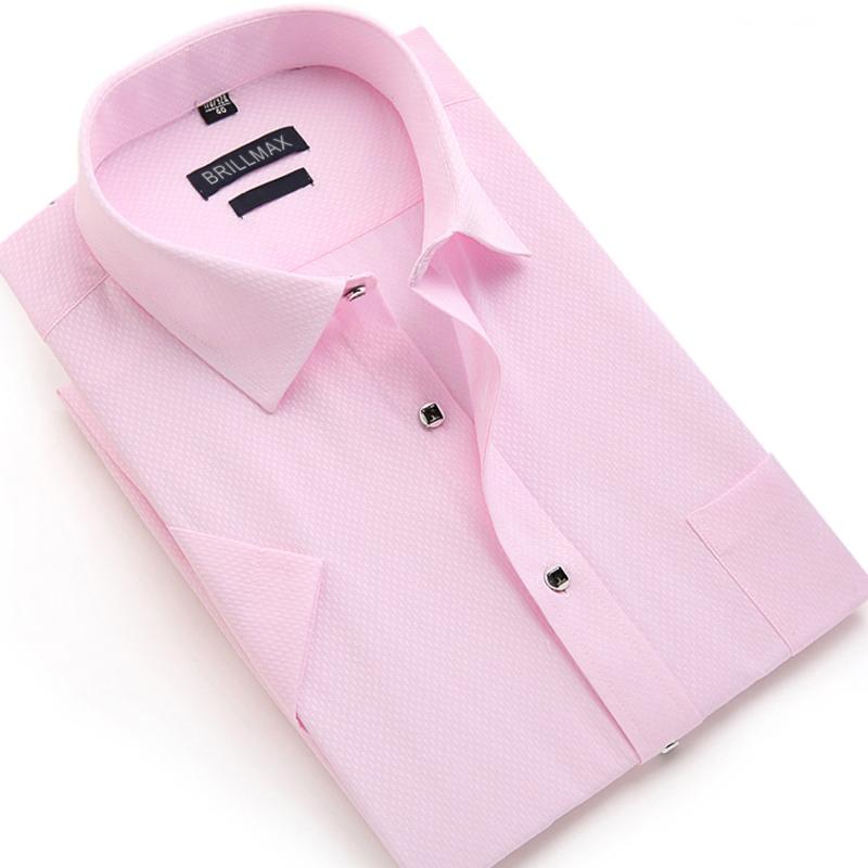 BRILLMAX Summer Men Solid Color Shirt