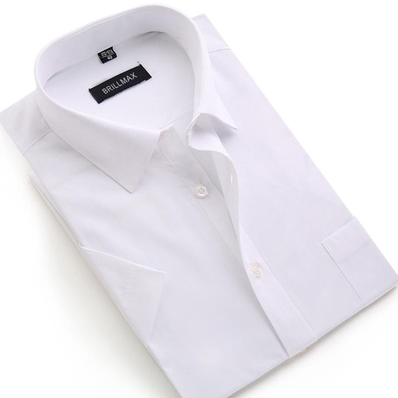 BRILLMAX Solid Color Formal Men Shirt