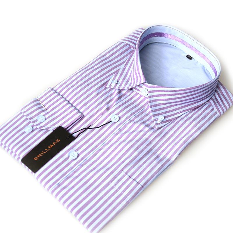 BRILLMAS Men Brand Shirt