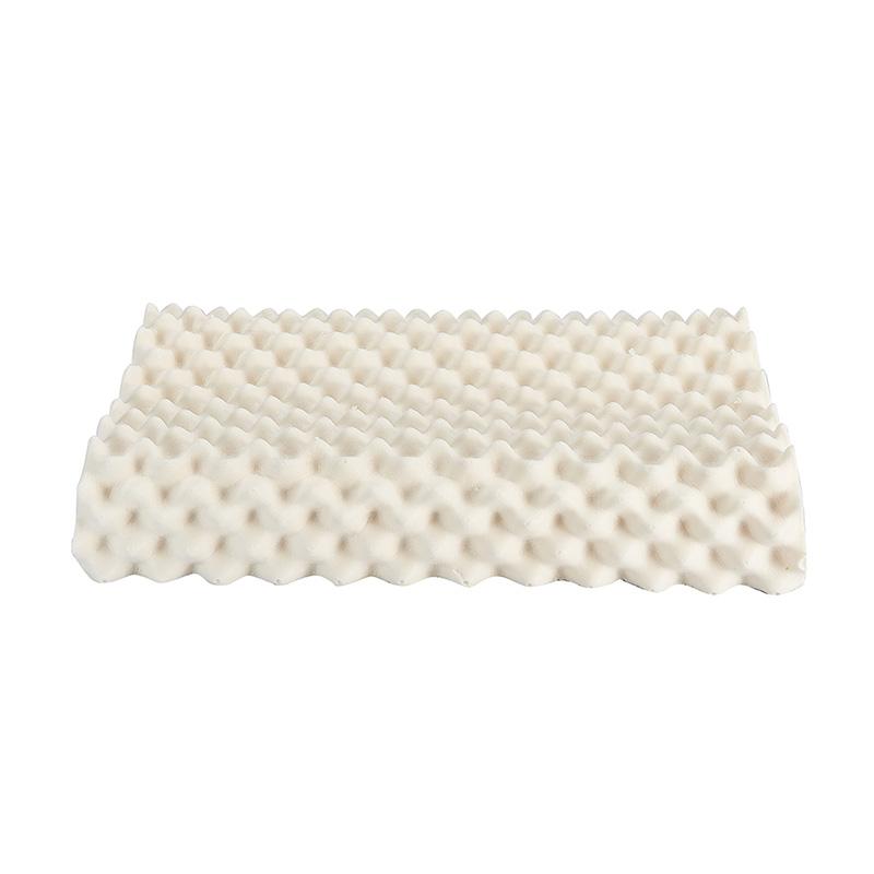 Message Natural Latex Contour Pillows