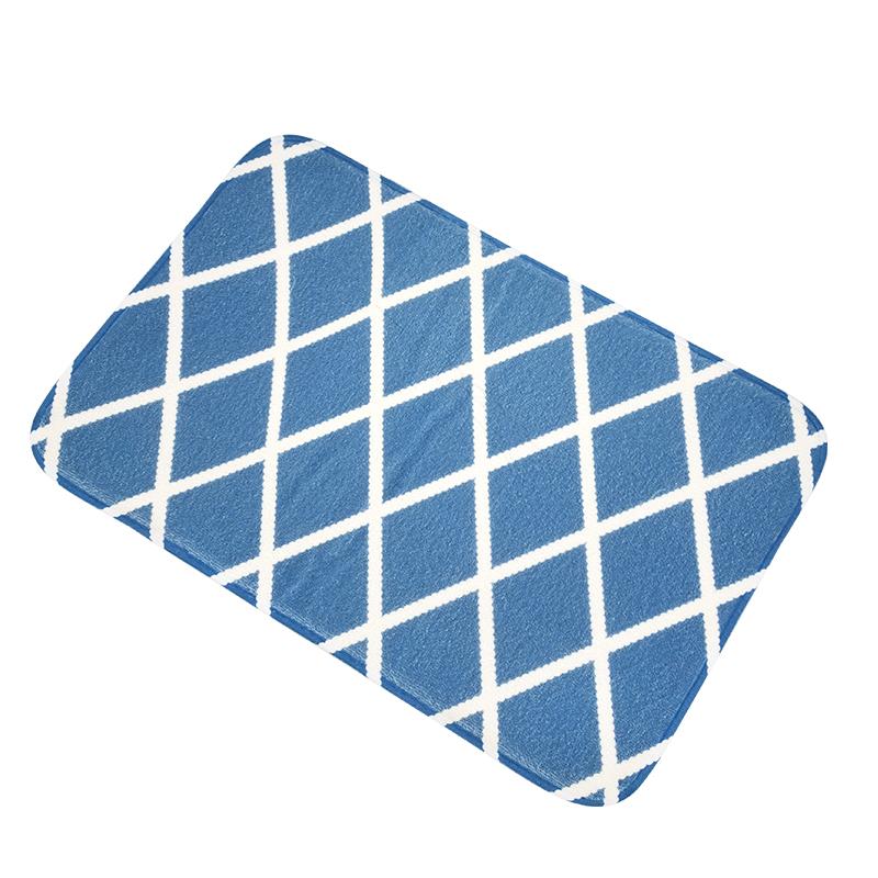 Flannel Bathroom Floor Mat
