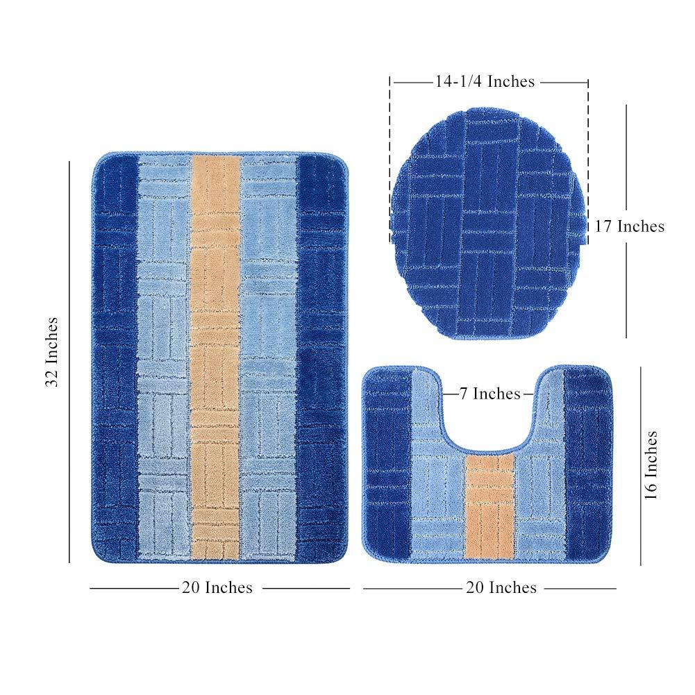 Toilet Carpet Rugs Mats