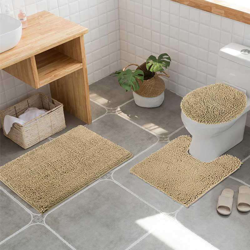 Chenille Bathroom Rug Sets
