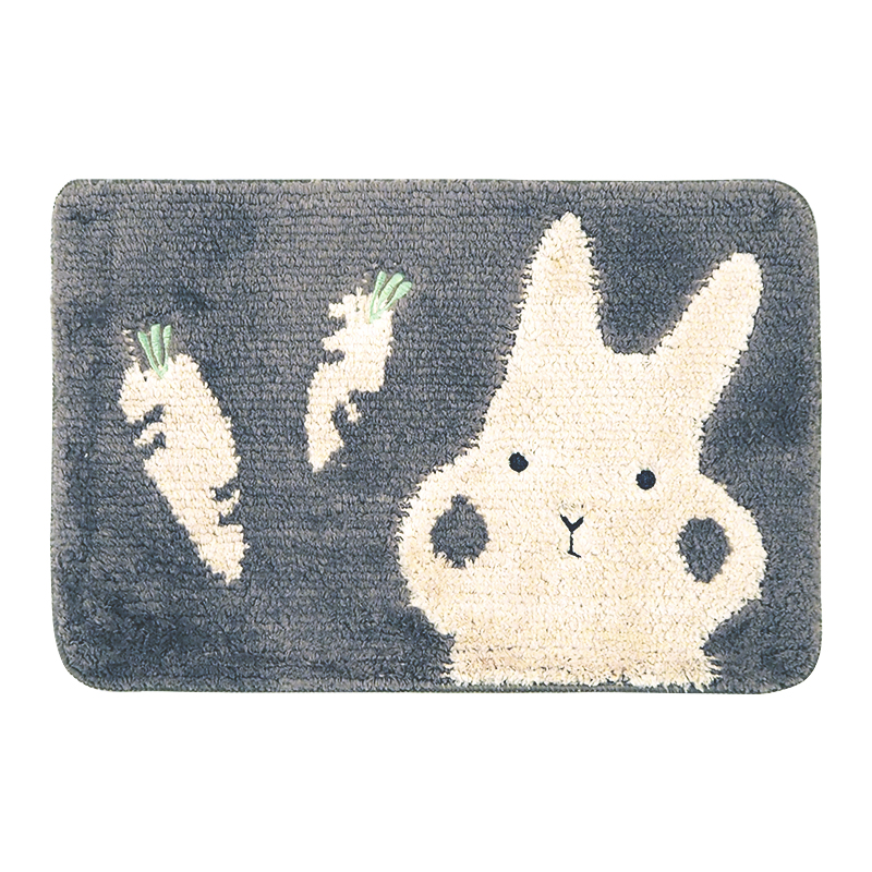 Absorbent Non-slip Microfiber Bathroom Kitchen Door Mat