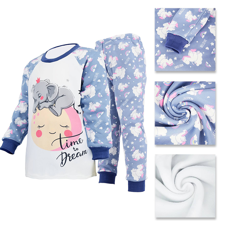 Winter Kids Pajamas Sets