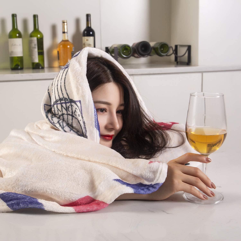Super Soft Warm Sherpa Throw Blanket