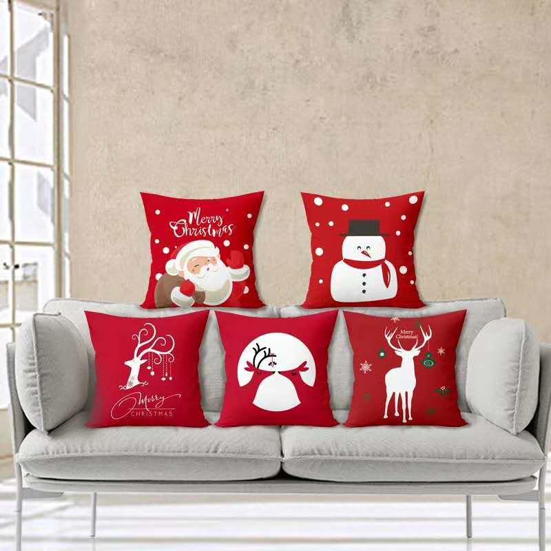 Cushion Covers Cotton Set