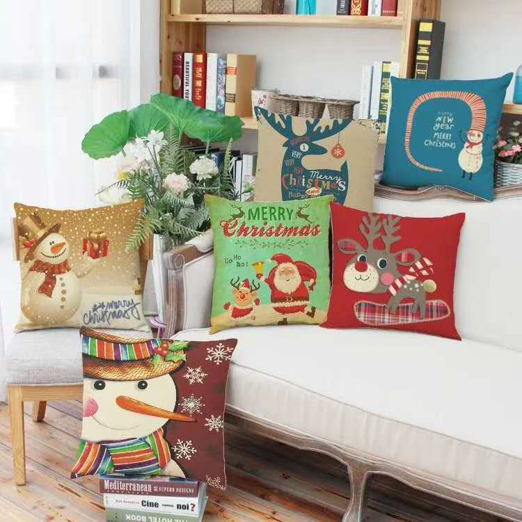Embroidery Couch Cushions