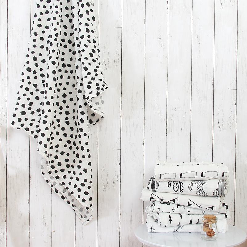 Super Soft Cotton Swaddle Blankets