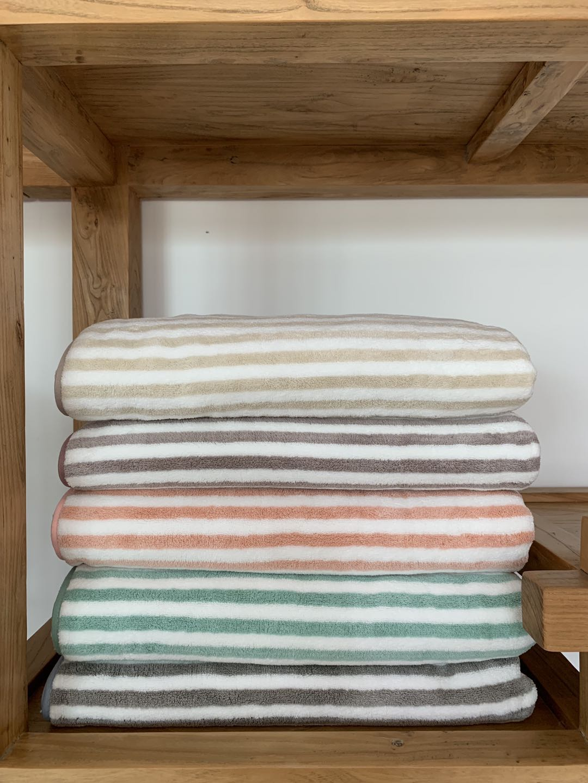 Solid Color Face Bath Towel
