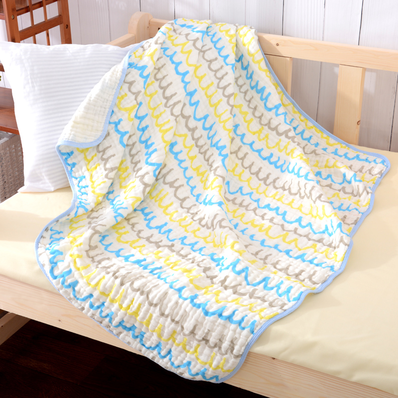 Super Soft Cotton Swaddle Baby Blanket