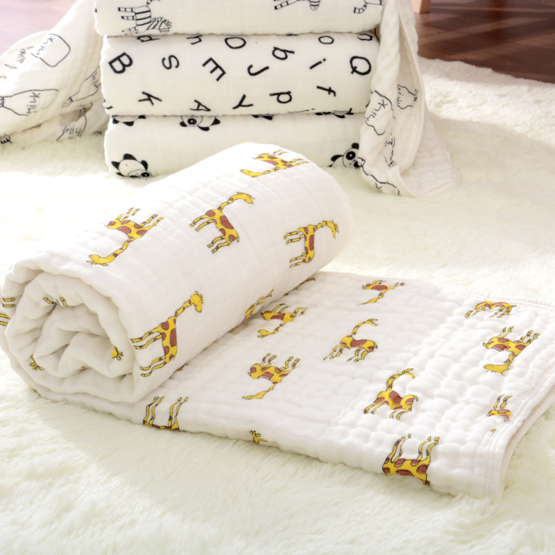 Plain Cotton Warm Blanket For Baby